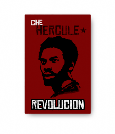 Che Hercules Fontaine Portrait Canvas Inspired By Red Dead Redemption 2